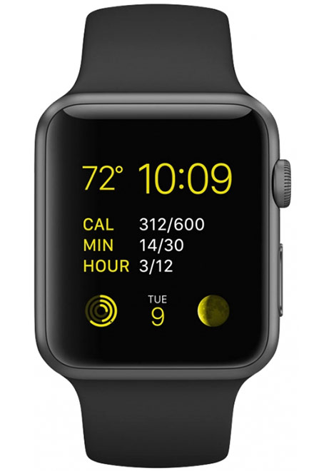Apple Watch Series 1 Aluminium Case 42mm