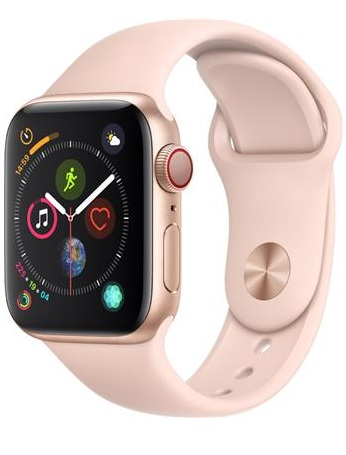 Apple Watch Series 4 GPS Cellular Aluminium Case