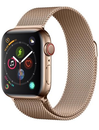 Apple Watch Series 4 GPS Cellular Stainless Steel Case